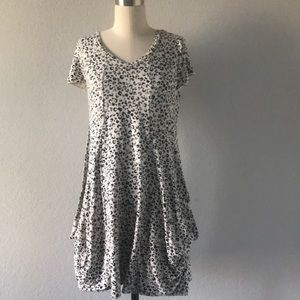 Kensie knit leopard dress with pockets
